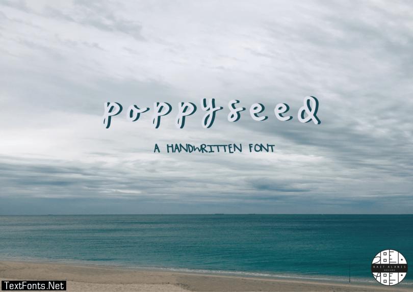 Poppy Seed Font