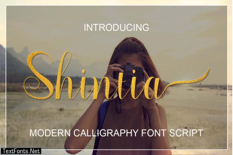 Shintia Font