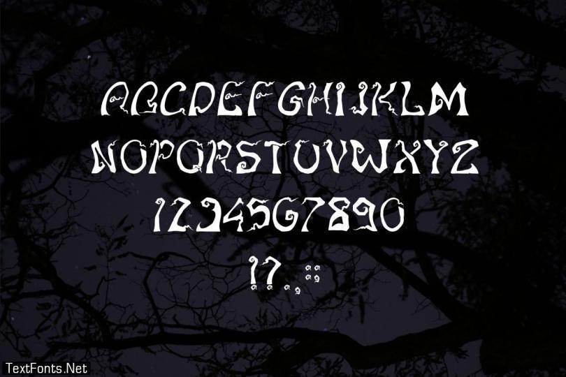 Stranglethorn Font