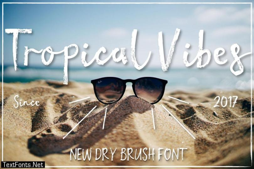 Tropical Vibes Font