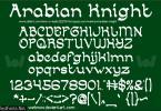 Arabian Knight Font