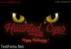 Haunted Eyes Font