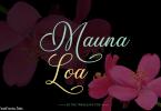 Mauna Loa Font