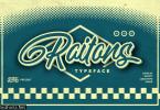 Raitons Font