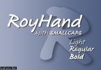 RoyHand Family Font