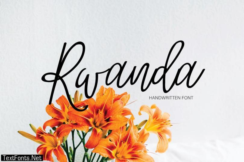 Rwanda Font