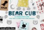 Bear Cub Font