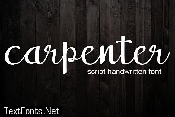 Carpenter Font