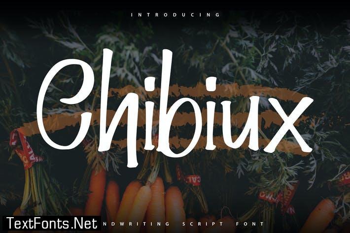 Chibiux   Handwriting Script Font