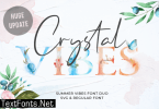 Crystal Vibes Font
