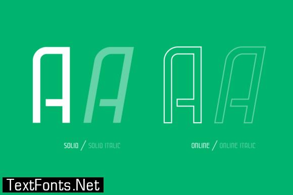 Cuantica Family Font