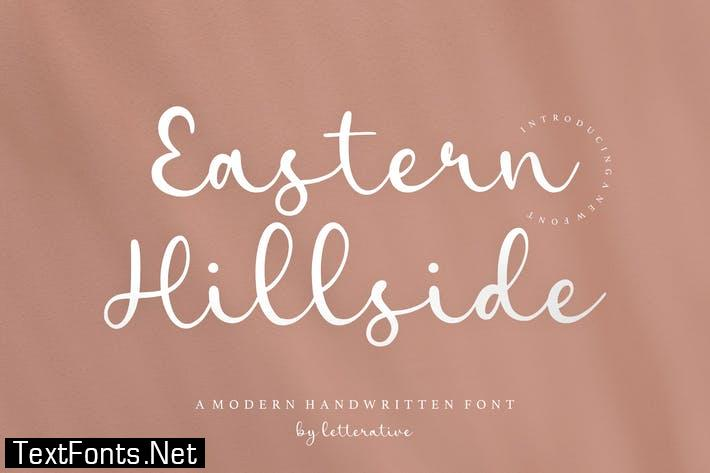 Eastern Hillside Script Font YH