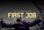 First Job Font