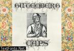 Gutemberg Psalter Gotisch Duo Font