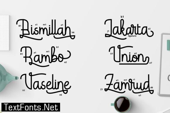 Hardolyn Font