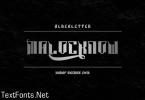 Malocknow Font