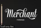 Merchant Font