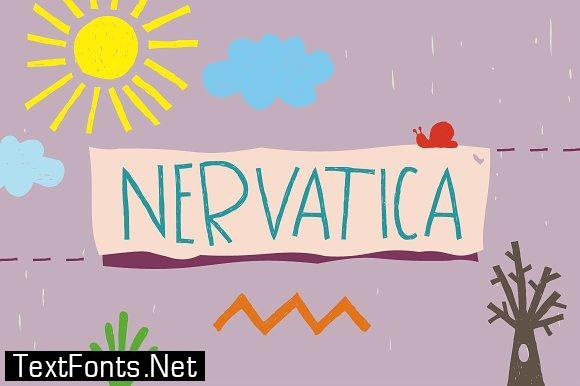 Nervatica Font