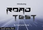 RoadTest Font
