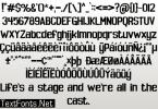 Spoopy Font