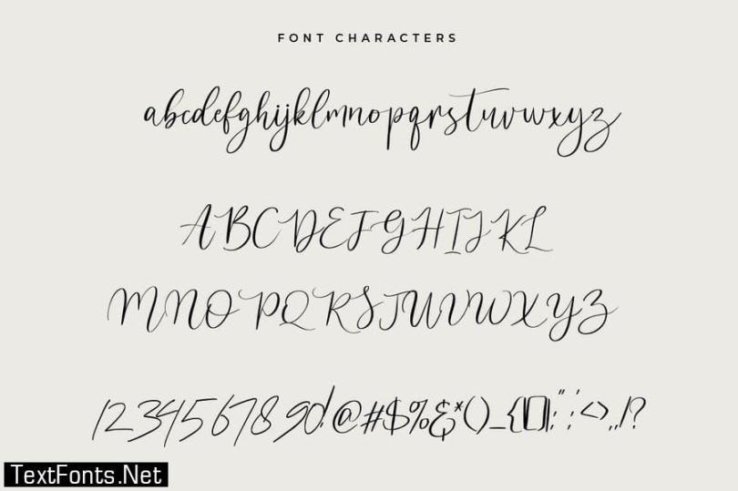 Suttimos Script Font