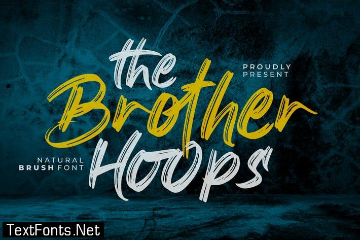 The Brother Hoops Font