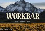 Workbar Serif Font