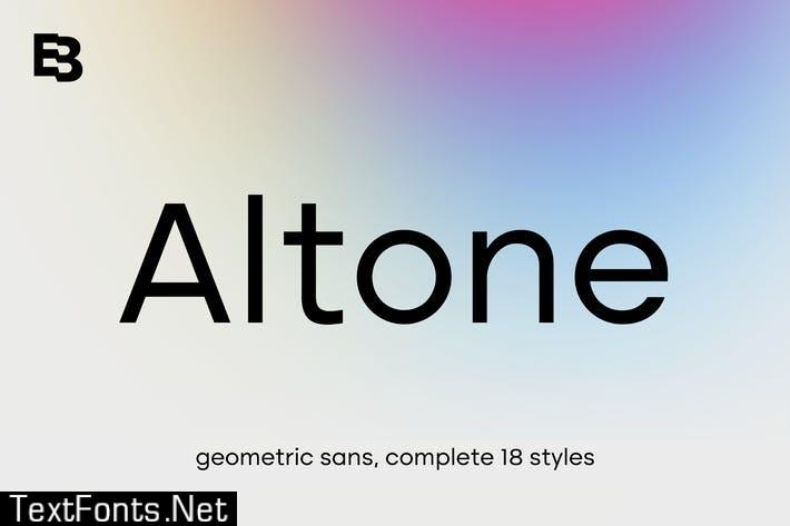Altone Font