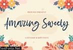 Amazing Sweety - Stylish Script