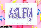 Asley - A Playfull Font
