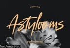 Astylooms Handwritten Brush Font
