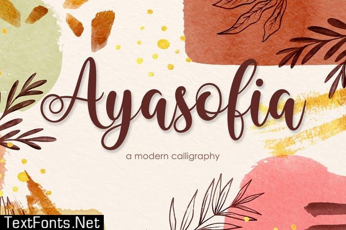 Ayasofia - Modern Calligraphy
