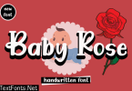 Baby Rose Font