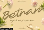 Betran Hand Drawing Font