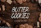 Butter Cookies Handwritten Font