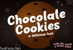 Chocolate Cookies Font