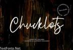 Chucklots Handwritten Script Font