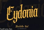 Cydonia – The Blackletter Font
