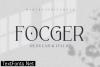 Focger Font