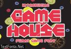 Game House Font