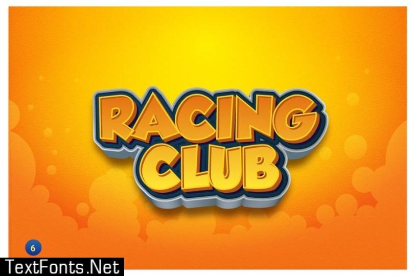 Game Logo Text Effects for Illustrator 3HPS5ZG