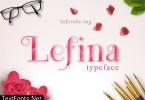 Lefina Font