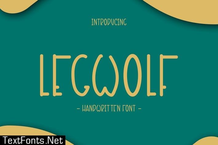 Legwolf - Handwritten Font DR