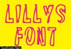 Lilly's Font Font