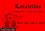 Locatellus Font