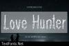 Love Hunter Font