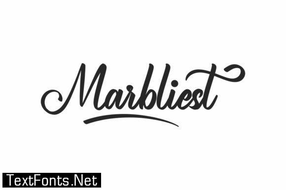 Marbliest Font