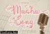 Masha Song Font