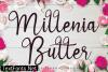 Millenia Butter Font