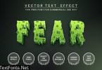 Scary zombie - editable text effect, font style BL2CMF5